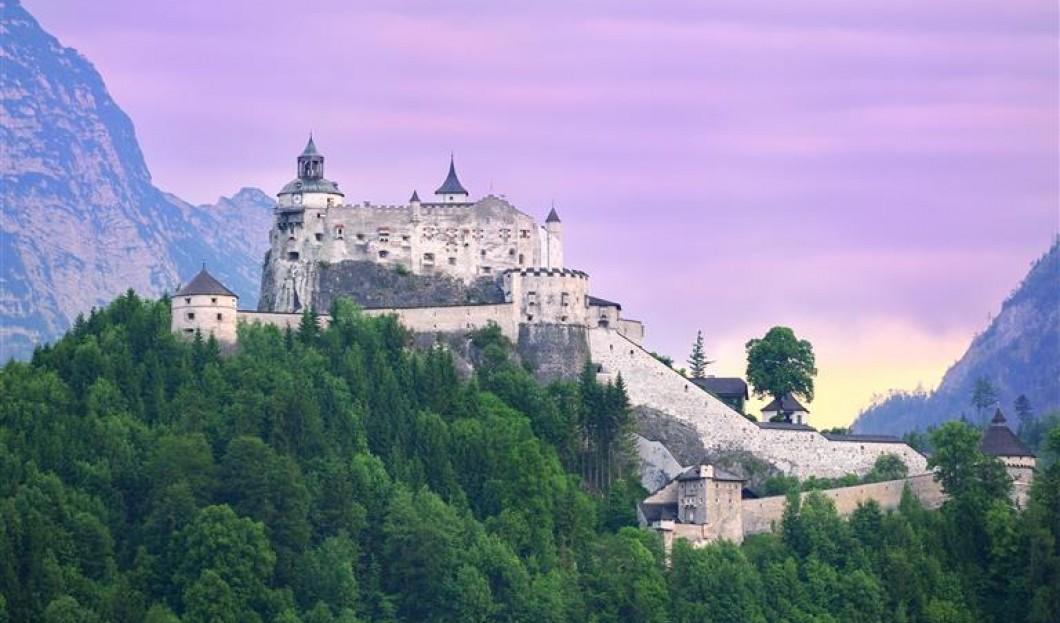 Zamek Hohenwerfen, Austria