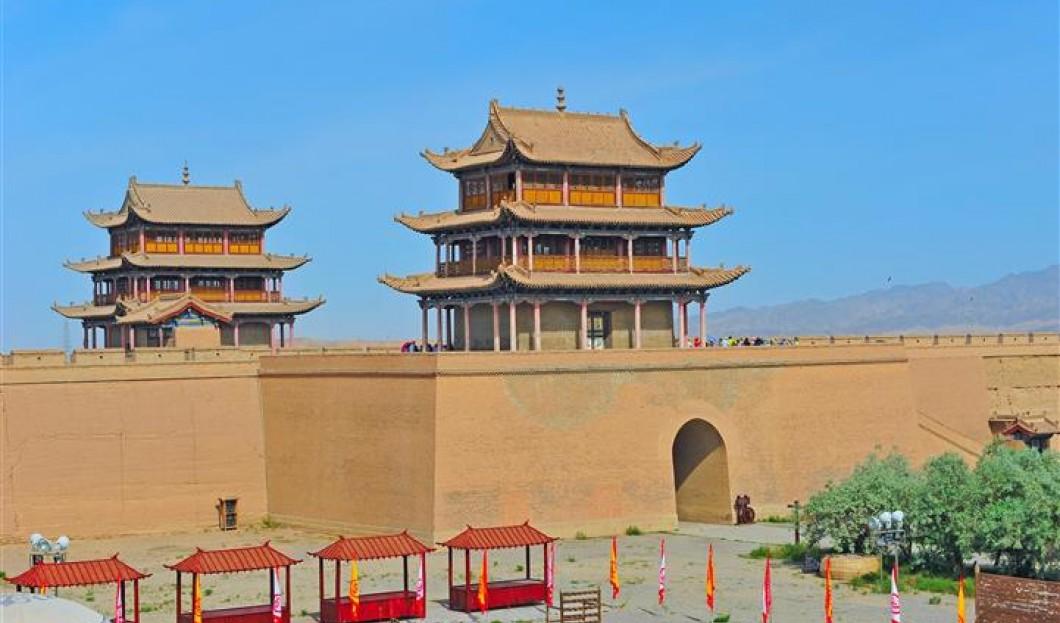 3.Wielki mur Jiayuguan
