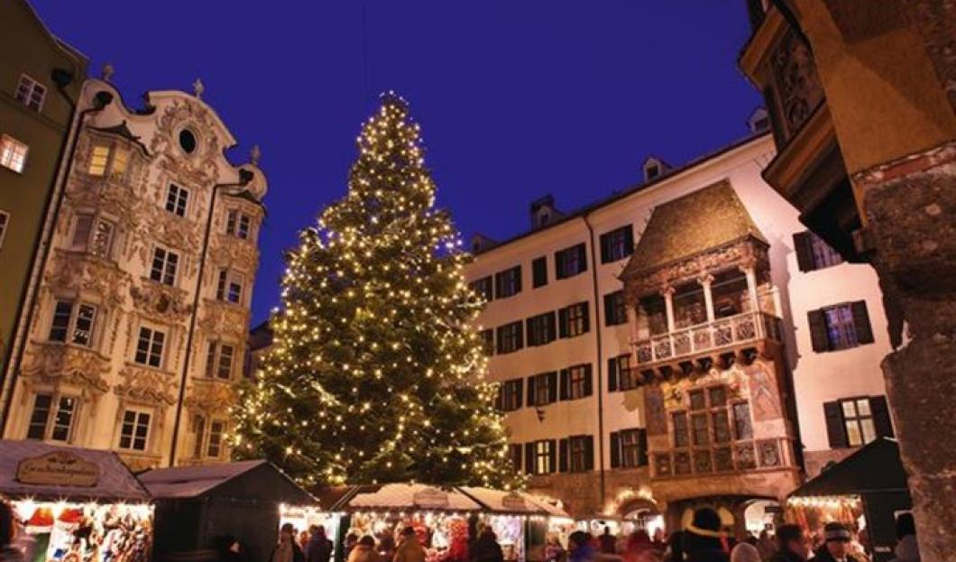 Kiermasze Bożonarodzeniowe w Innsbruck