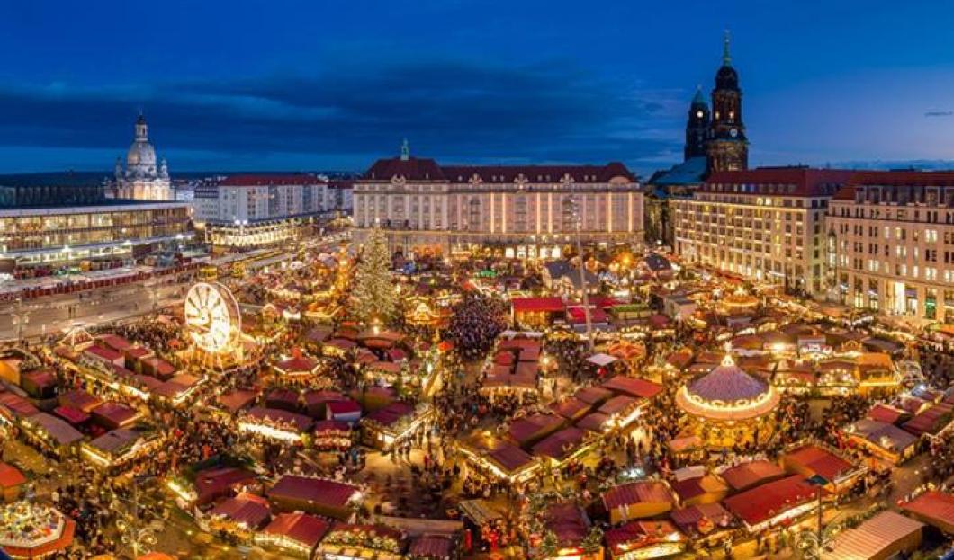 Striezelmarkt w Dreźnie