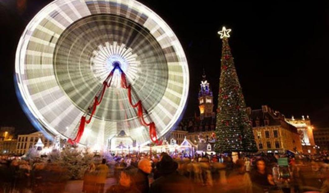 Kiermasz Bożonarodzeniowy w Lille