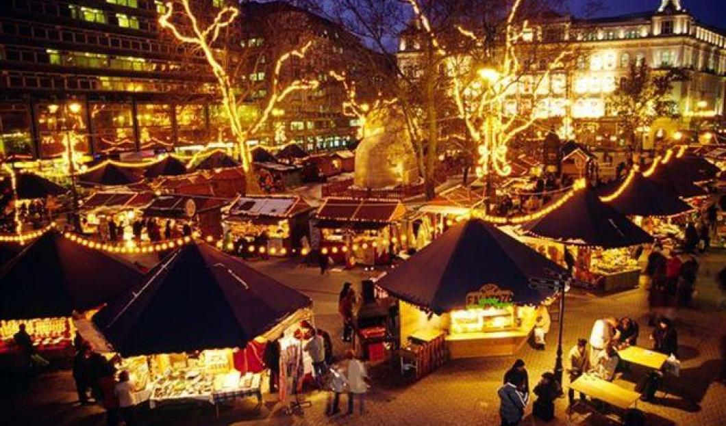 Jarmark Zimowy i Kiermasz Bożonarodzeniowy w Budapeszcie
